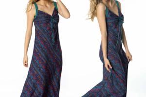 Vestido largo de Lingam