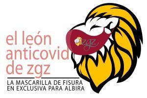 Ya están aquí las mascarillas del León de Zgz