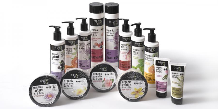 Gel, Espuma de baño y Cremas de Organic Shop